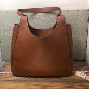 Neiman Marcus brown large tote
